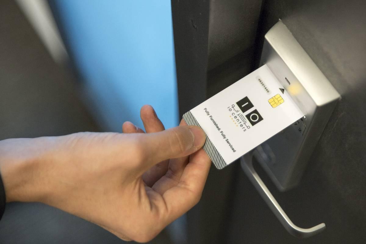 tarjeta de control de acceso